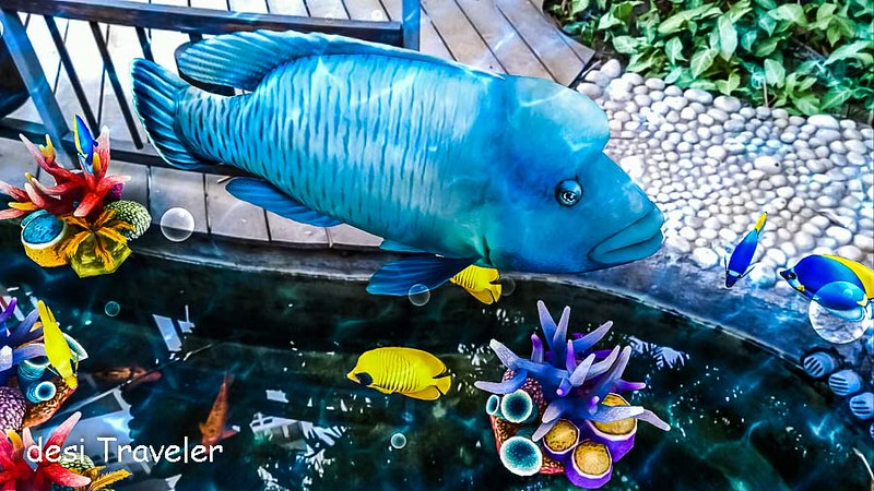 Virtual Aquarium Augmented Reality
