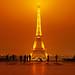 Paris by night. Trocadero by Andrey Sulitskiy