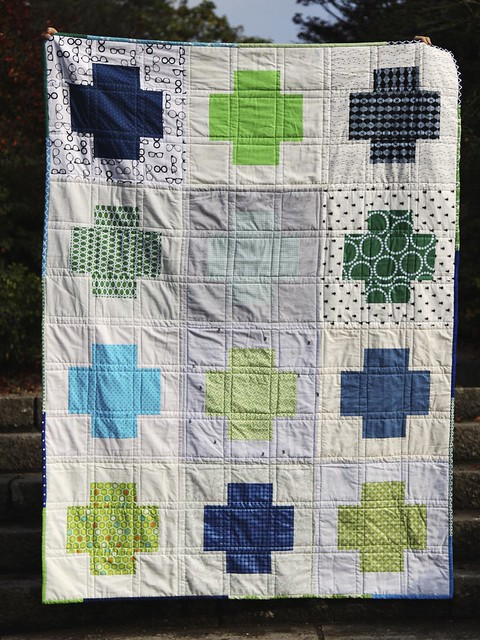 STQB Giant Cross quilt
