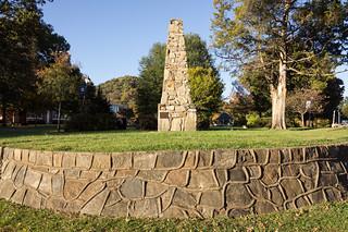 Battle of Round Mountain monument