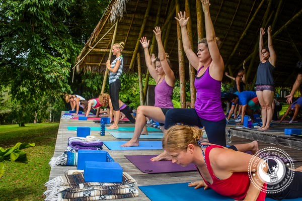 Yoga Studio in the Costa Rican Jungle