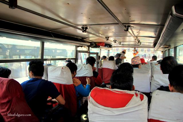 Kathmandu Nepal Local Bus