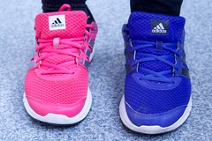 violet(0.0), nike free(0.0), outdoor shoe(1.0), magenta(1.0), sneakers(1.0), footwear(1.0), purple(1.0), shoe(1.0), electric blue(1.0), blue(1.0), pink(1.0),
