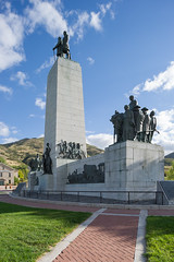 This is the Place Monument, Salt Lake City, UT