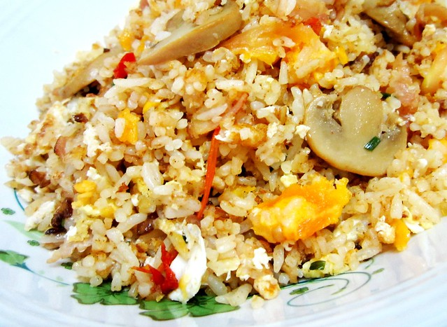 STP's salted egg & bacon fried rice 3