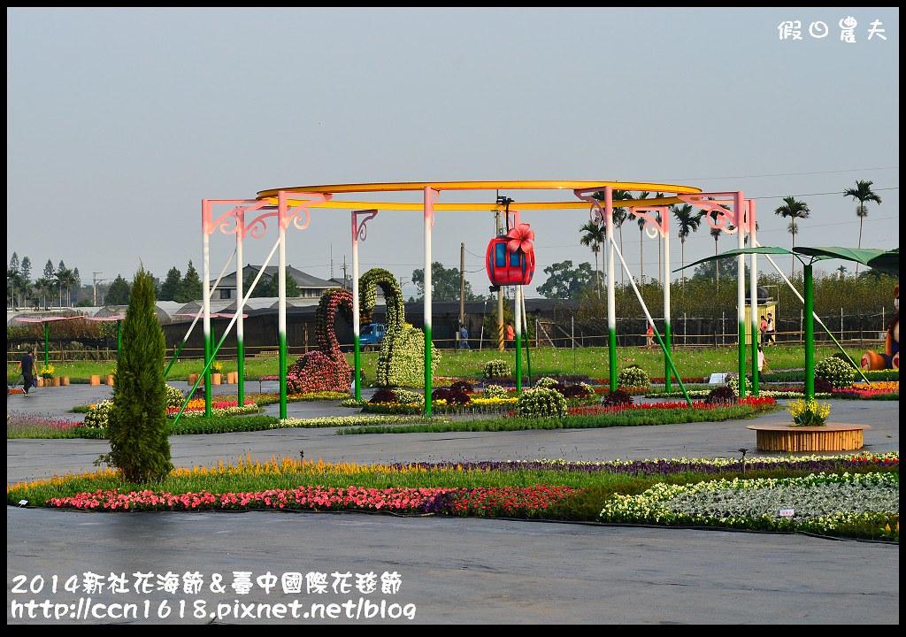 2014新社花海節&臺中國際花毯節DSC_4879