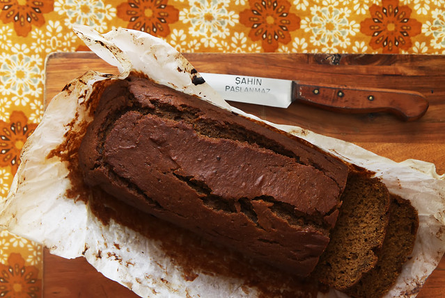 Pumpkin Grape Molasses Bread by Olga Irez
