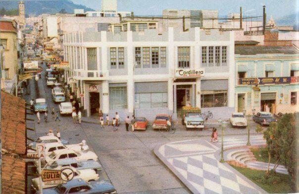 oeste esquina plaza bolivar merida 1969