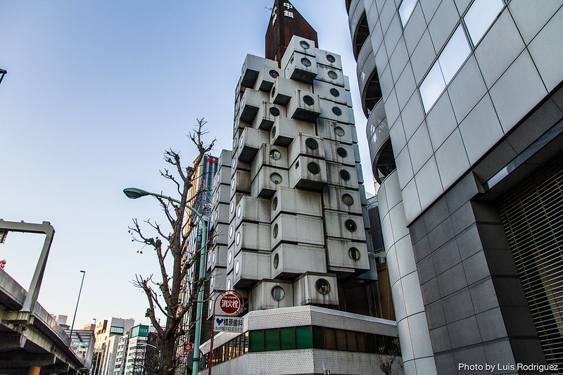 Nakagin Capsule Tower-6