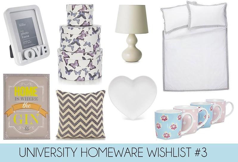 FASHION-TRAIN: University Homeware Wishlist #3