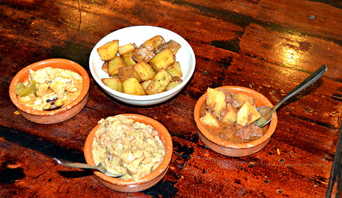 Tapas taster menu at The Willows in Los Cristianos