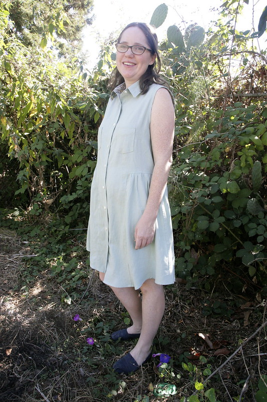 Grainline Alder Shirtdress