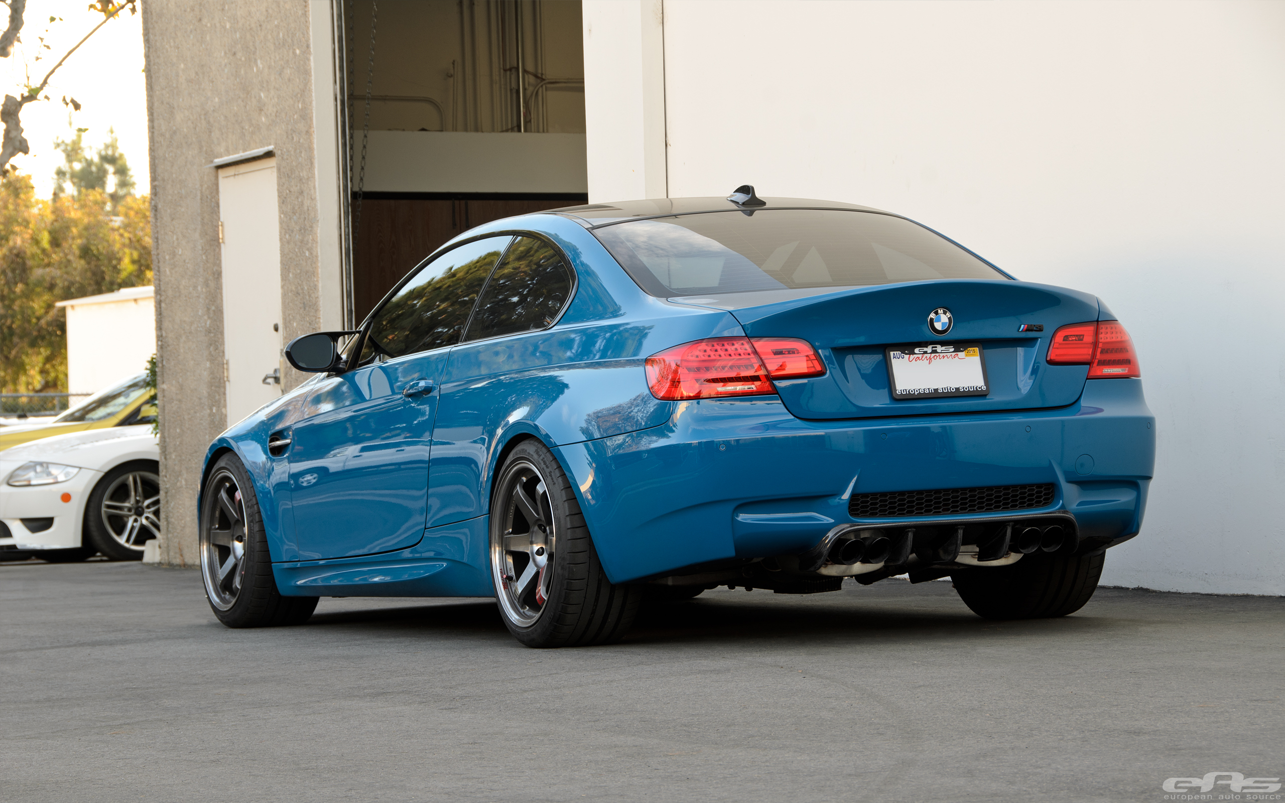Laguna Seca Blue E92 M3 Build Bmw Performance Parts