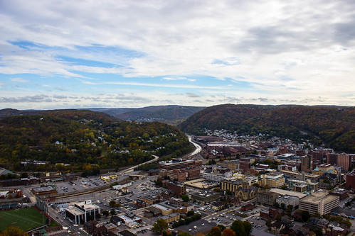 bridge plane buildings landscape town site flood pennsylvania small tourist pa incline johnstown