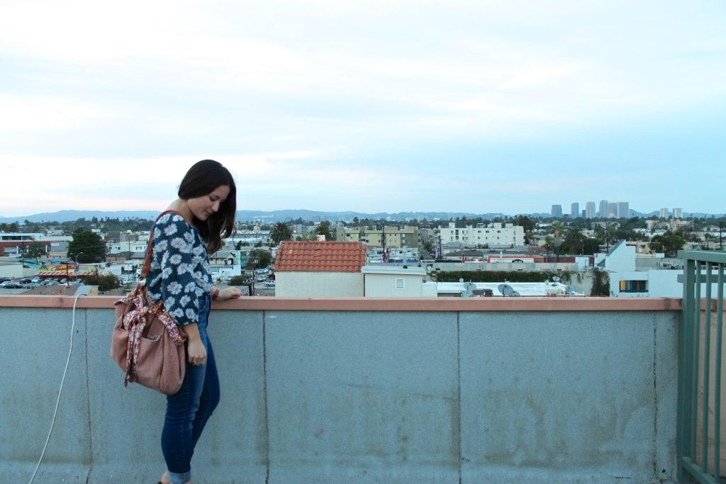 fall style in LA