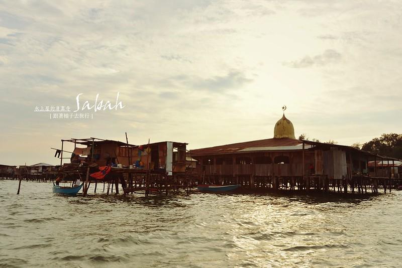 水上屋的清真寺@加雅島Gaya island