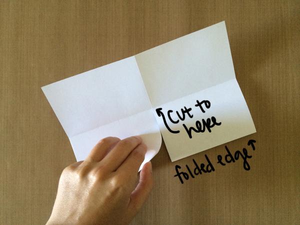 One-Sheet Mini-Zine Step 4