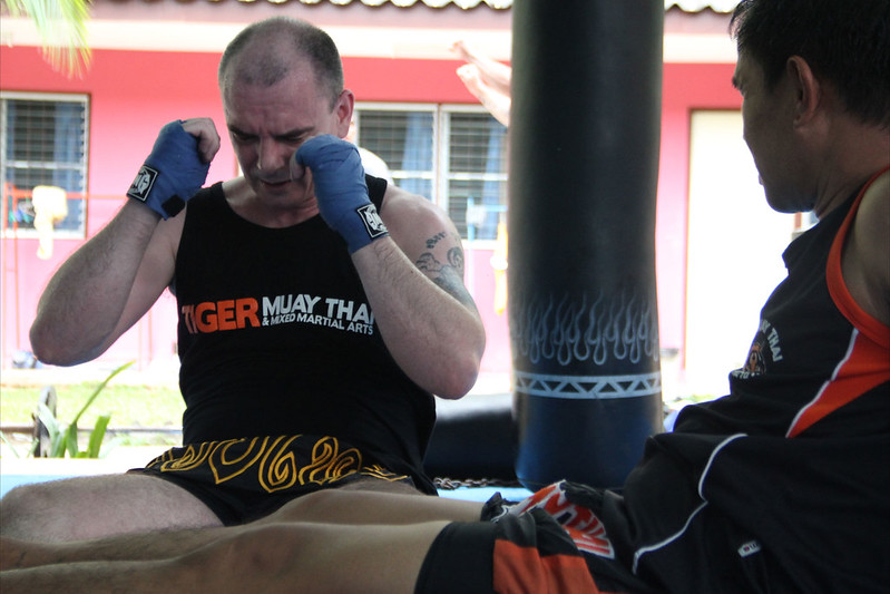 Paul Garrigan Muay Thai