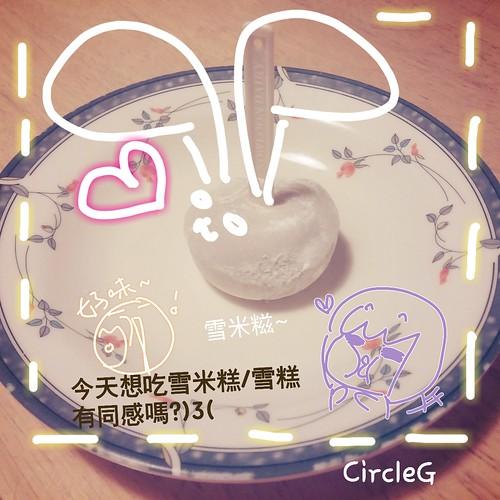 CIRCLEG 雪米糍 好味 食 香港 雪糕