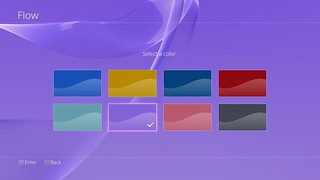 PS4 Background: Purple