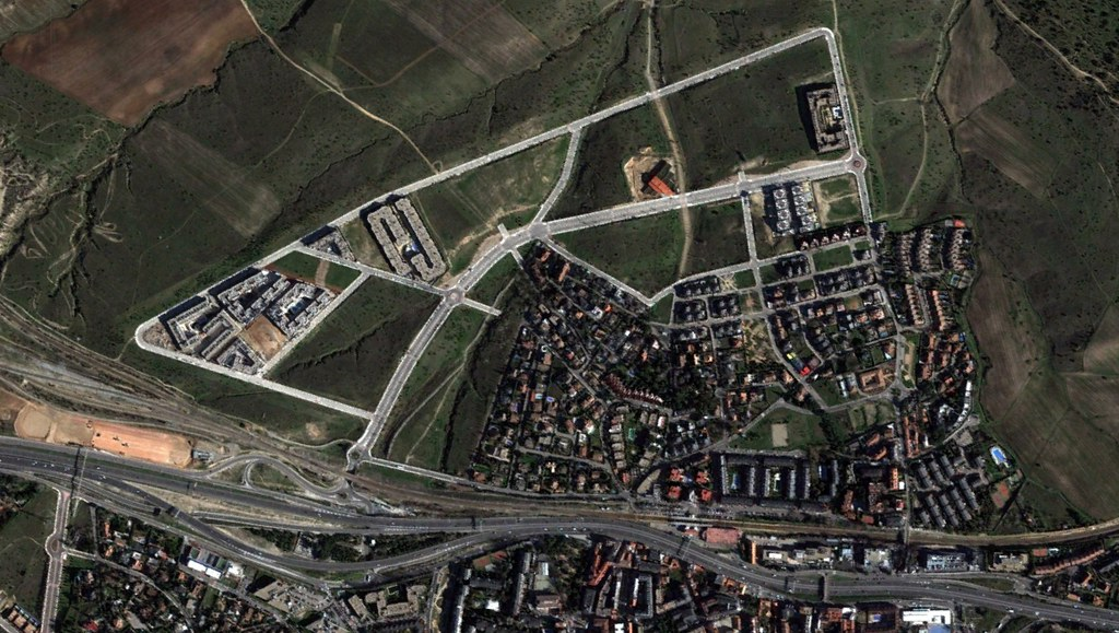 las rozas, este, madrid, en pleno pardo, después, urbanismo, planeamiento, urbano, desastre, urbanístico, construcción, rotondas, carretera
