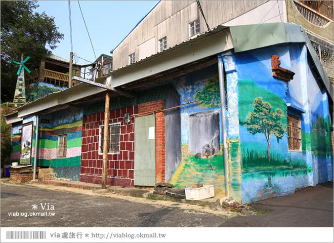 【關廟彩繪村】新光里彩繪村~在北寮老街裡散步‧遇見全台最藝術風味的彩繪村46