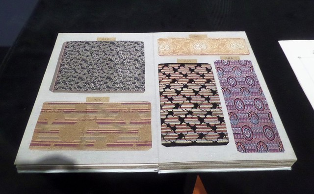 Sample Book at Kawashima Textile Museum