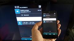 บน Nexus 5 ก็ทำ Cast screen ได้เลย