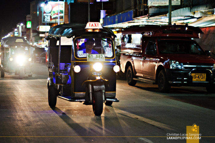 Tuktuk Along Chiang Mai Night Bazaar