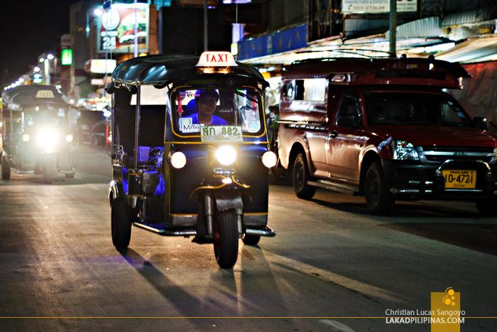 Tuktuk Along Chiang Mai Night Bazaar