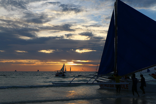 Sunset in Boracay