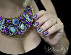 Nail art com top coats coloridos Whatcha