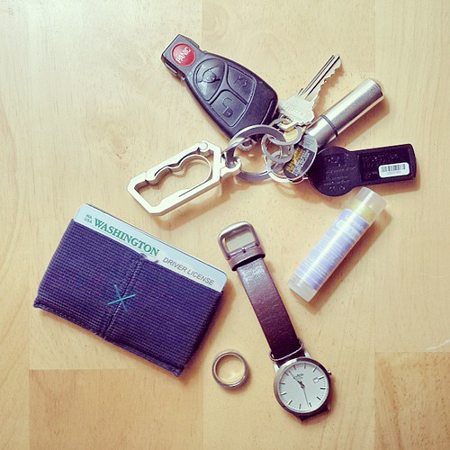293/365 - Everyday Carry, Sans Phone #project365