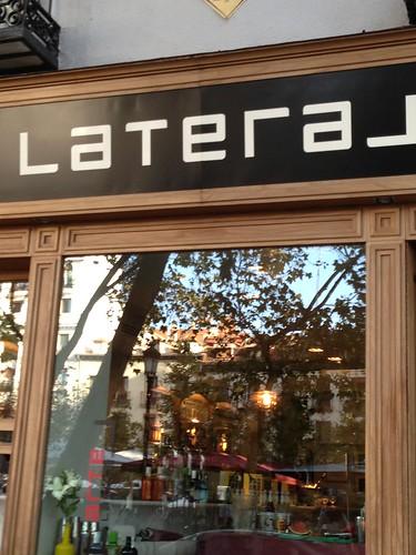 Lateral Santa Ana, Barrio de Las Letras. Madrid