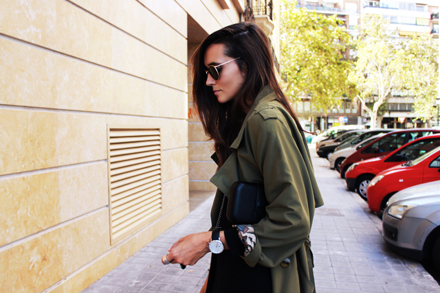 long militar trench coohuco 10