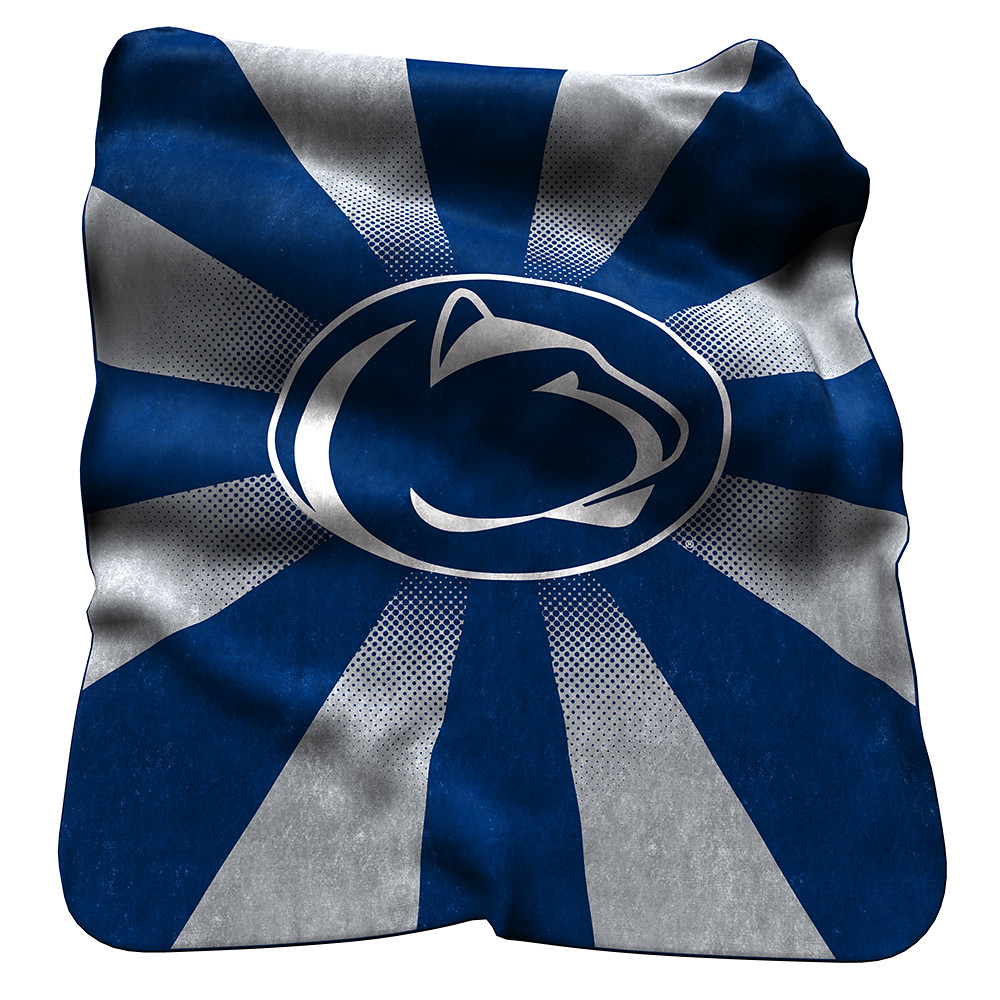 Penn State Nittany Lions NCAA Raschel Blanket