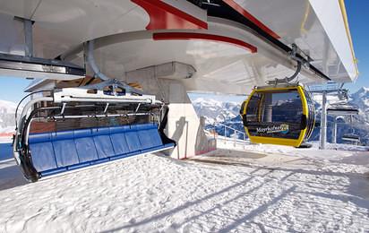 Doppelmayr combo lift (Photo courtesy Doppelmayr Seilbahnen GmbH)