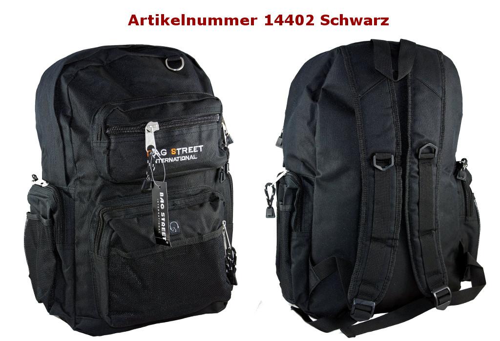 Rucksack 14402 Schwarz