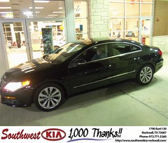 #HappyAnniversary to Richard Floyd on your 2010 #Volkswagen #Cc from Larry Upton at Southwest KIA Rockwall!