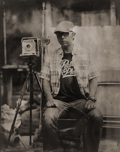 Wet Plate Processing(8x10)