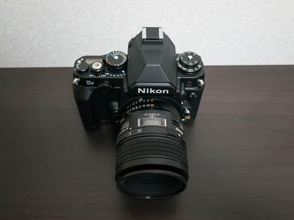 DF + Ai AF Micro-Nikoor 60mm F2.8D