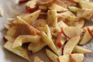 appels met kruiden