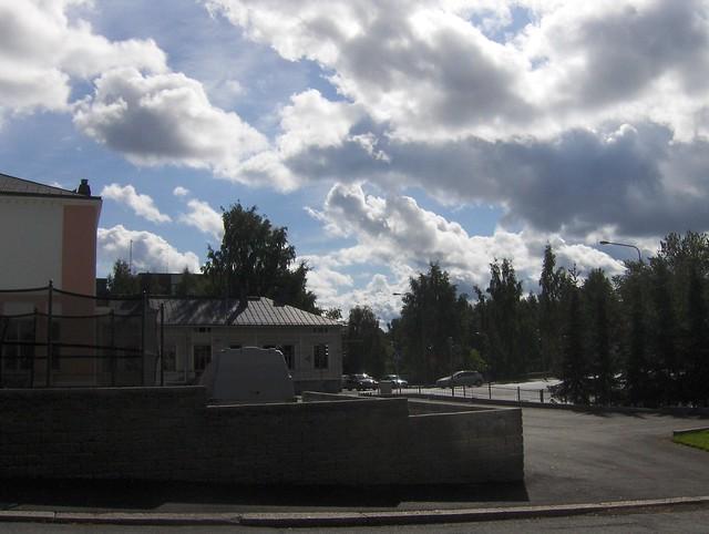 Hämeenlinnan moottoritiekate ja Goodman-kauppakeskus: Työmaan lähtötilanne 4.9.2011 - kuva 1