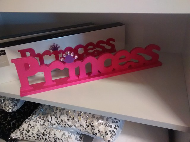 Princess wooden decor at amart