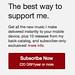 Bandcamp subscribe blog button