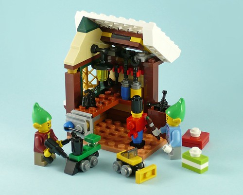 LEGO 40106 Toy Workshop 14