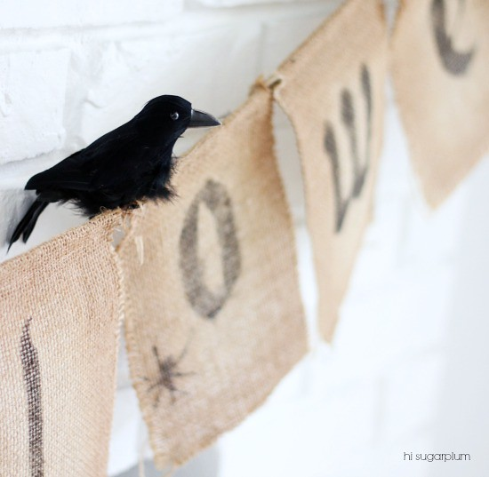 Hi Sugarplum | Halloween Mantel