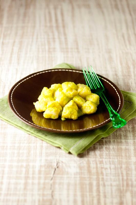 gnocchi ricotta crema broccoli