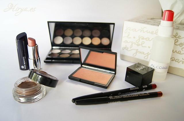 Utiles para desinfectar el maquillaje