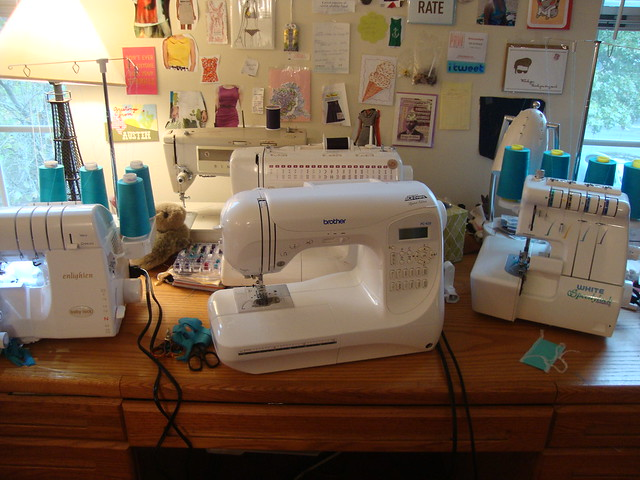 My sewing machine collection